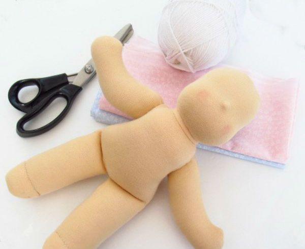 Готовая заготовка куклы фото