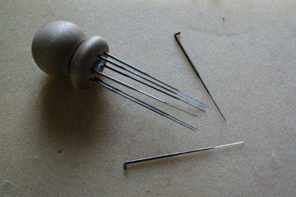 Инструменты для валяния фото