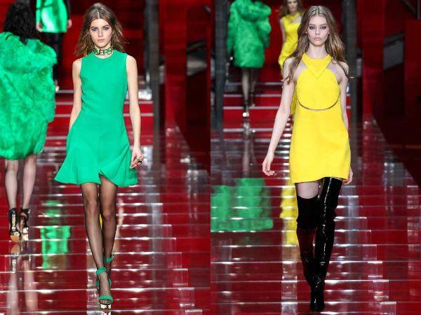 Модные изумрудный и лимонный цвета фото