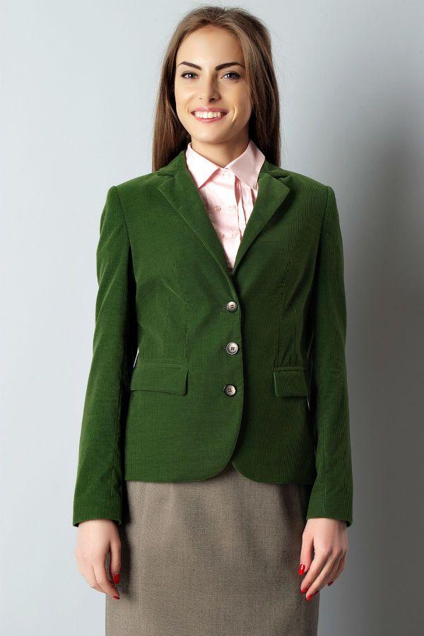 Пиджак из вельвета женский фото