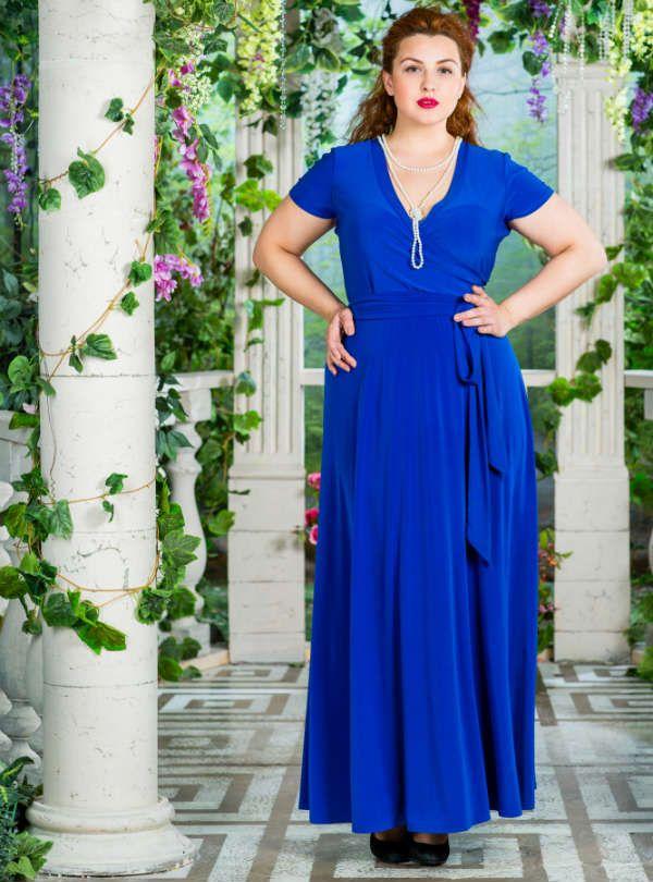 Платье, визуально корректирующее фигуру фото