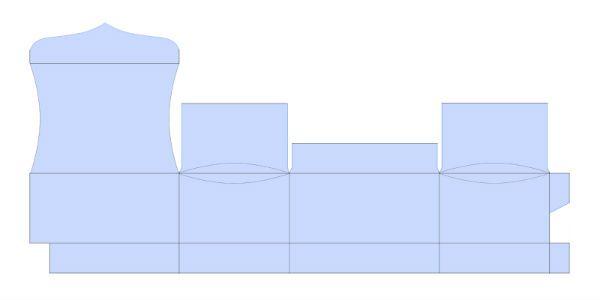 Пример перенесенной схемы фото