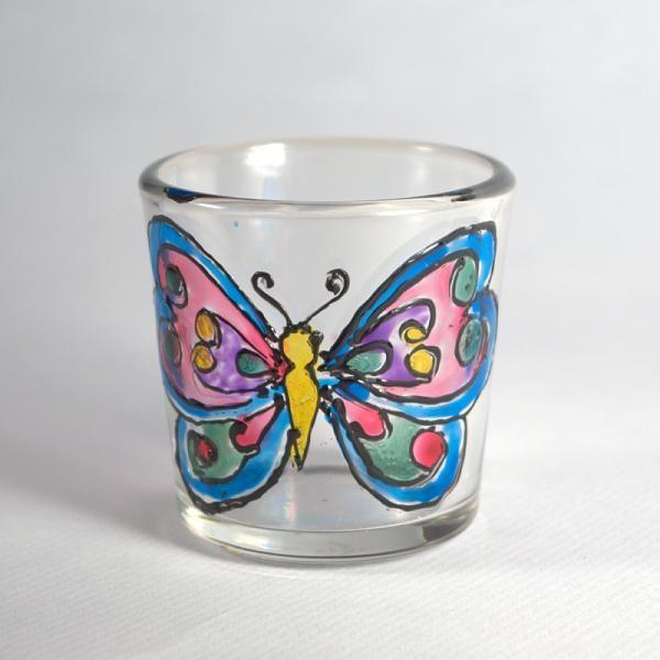 Разрисовываем бабочку фото