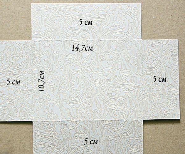 Схема дна шкатулки фото