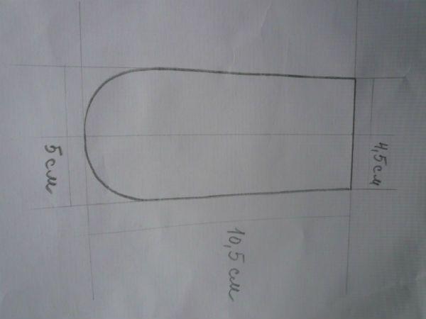 Схема ножки фото