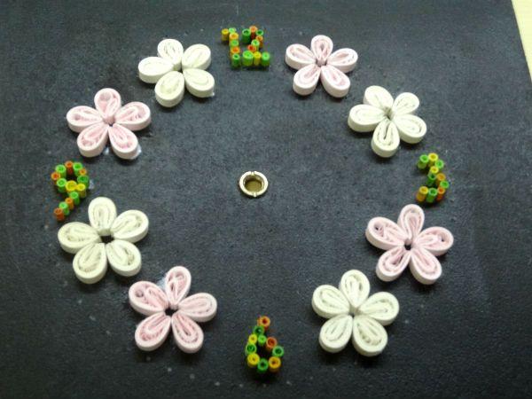 Собираем элементы в цветы фото