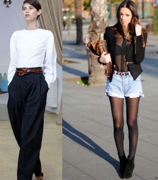 Весенние брюки и шорты фото