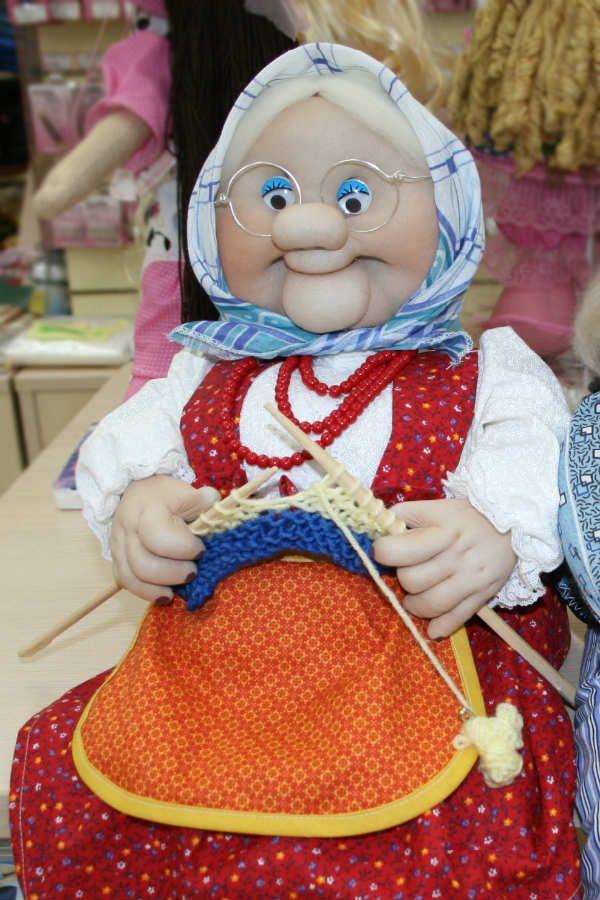 Чулочная кукла фото