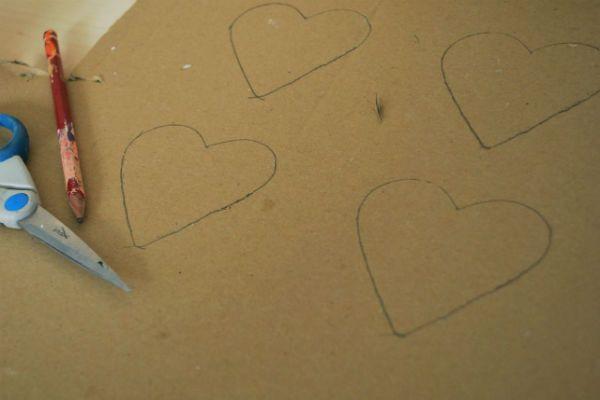 Делаем шаблоны сердечек фото
