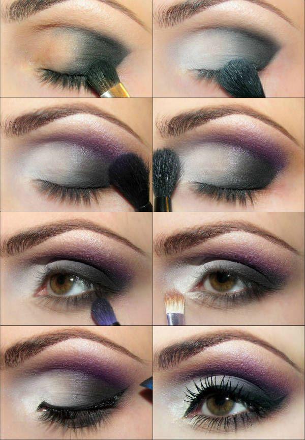 Для карих глаз с матовыми тенями фото