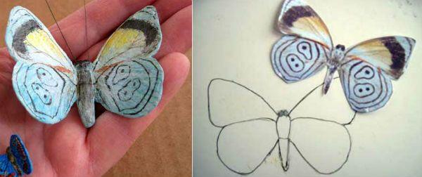 Готовая бабочка фото