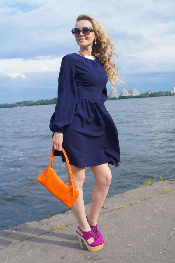 Модные оттенки одежды фото