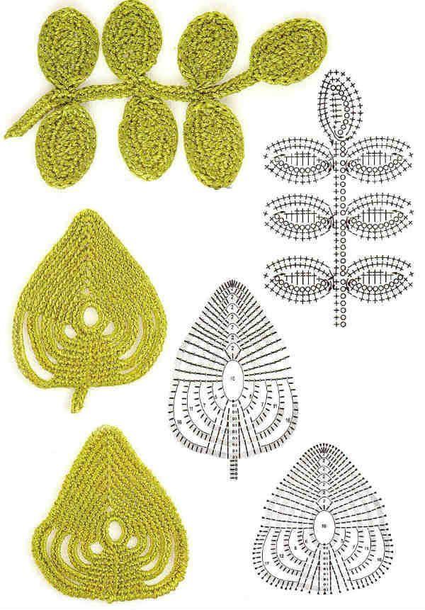 Мотив листьев фото