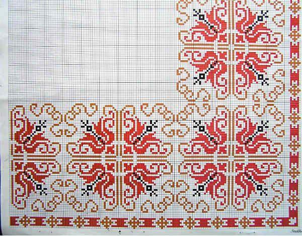 Схема народного орнамента фото