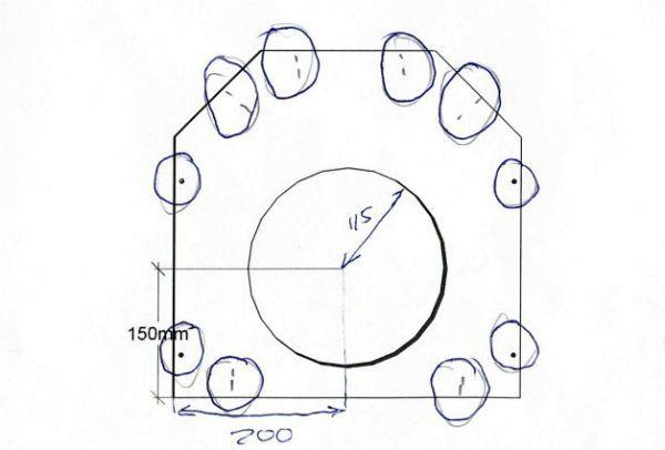 Схема передней стенки фото