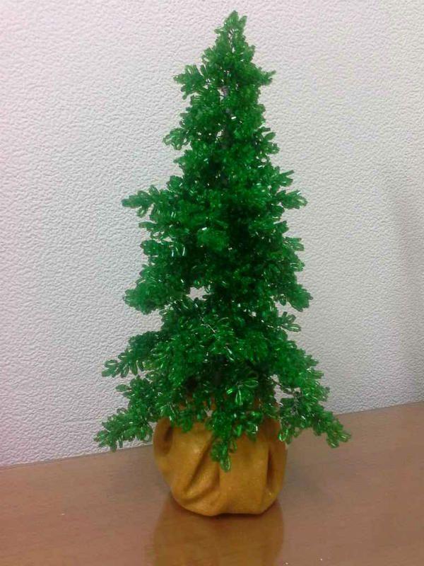 Собранная елка фото