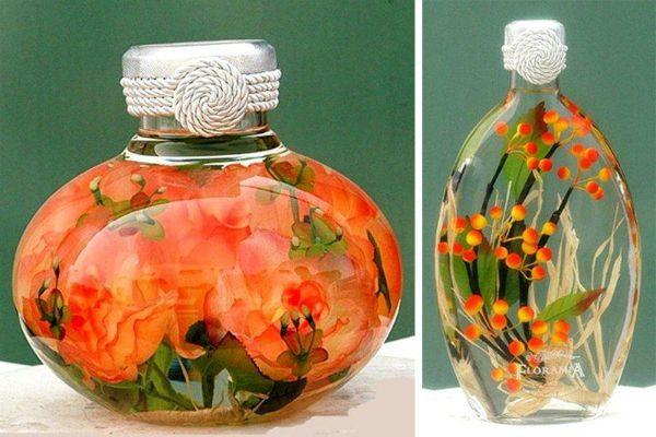 Цветы в глицерине фото