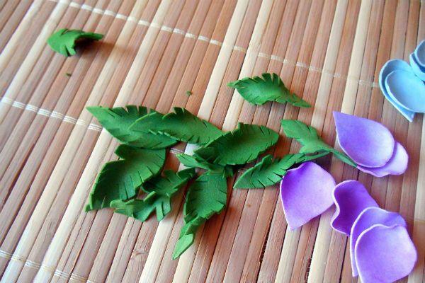 Деформируем листья фото