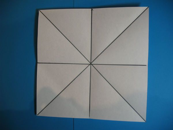 Делаем разметку квадрата  фото