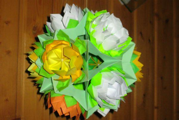 Готовый шар лилия фото