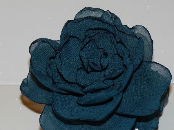 Готовый синий цветок фото