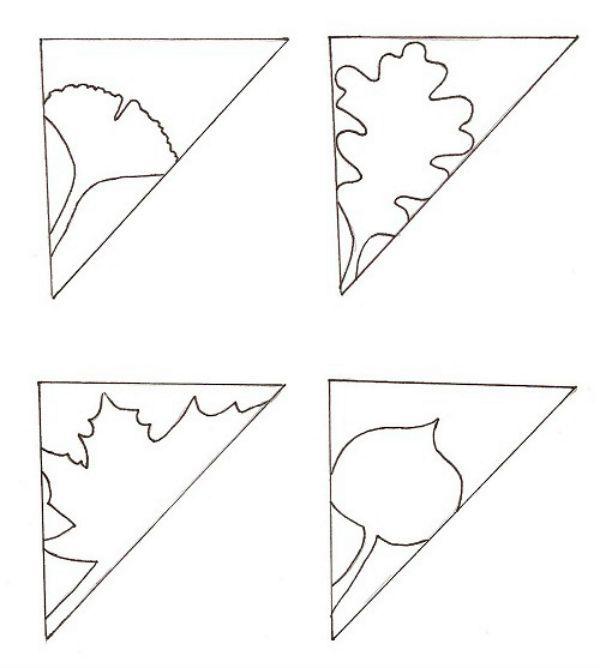 Киригами простые шаблоны фото