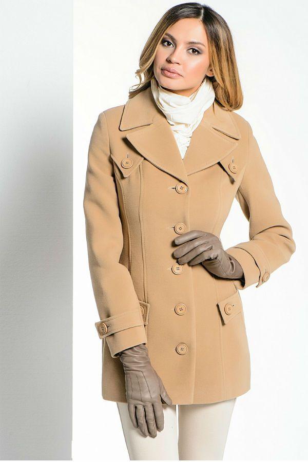Короткое пальто-пиджак фото
