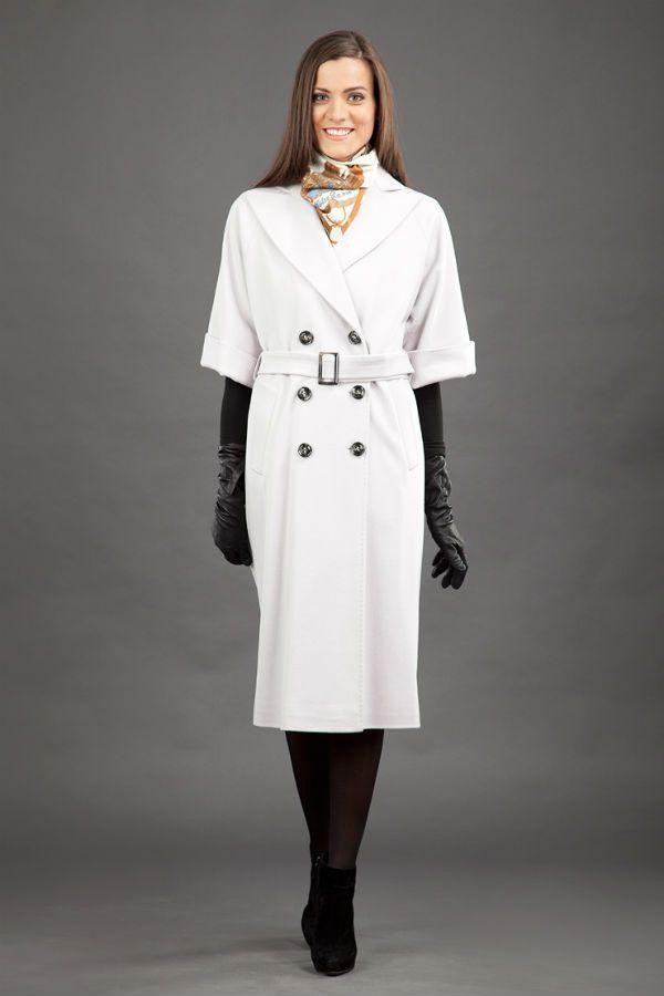 Пальто с короткими рукавами фото