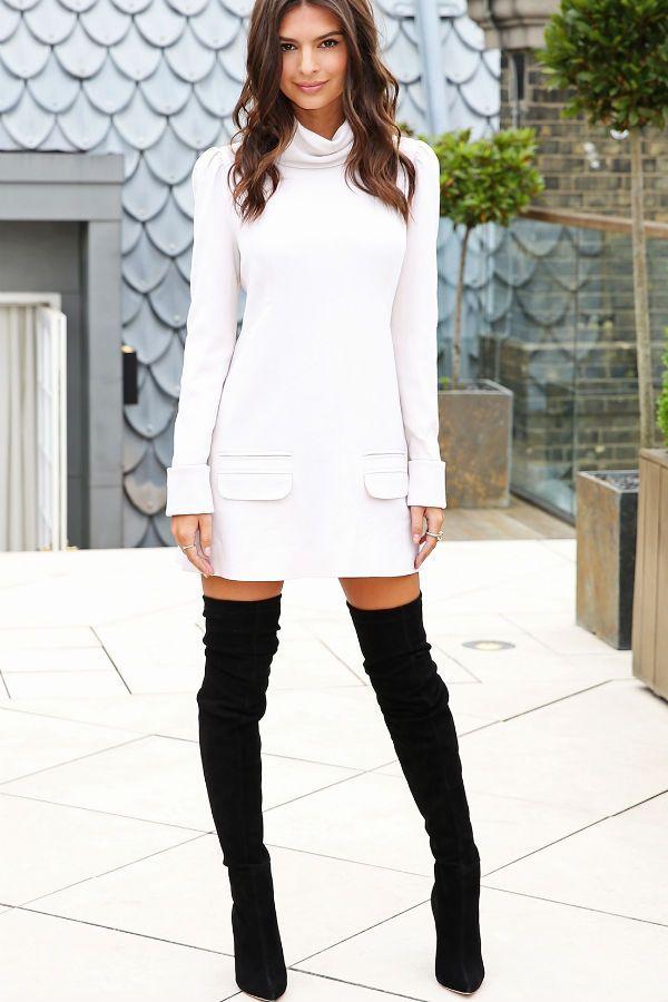 Платье-свитер фото