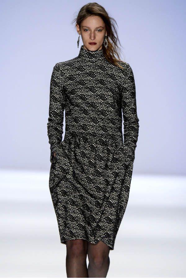 Платье зимой фото