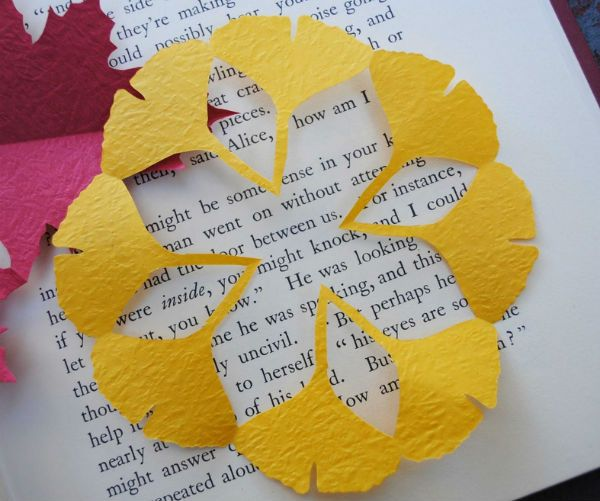 Пример киригами фото