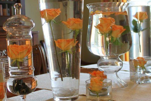 Розы в глицерине фото