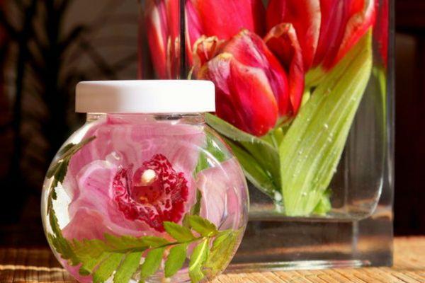 Тюльпаны в глицерине фото
