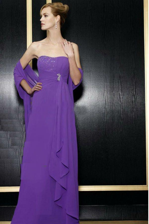 Вечернее платье и палантин фото