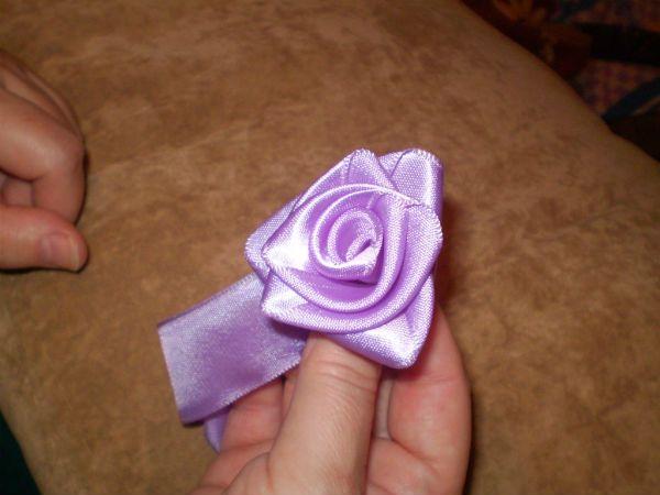 Заготовка розы фото