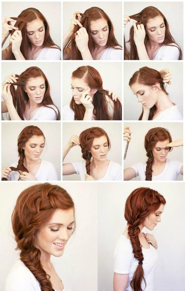 Объемная коса фото