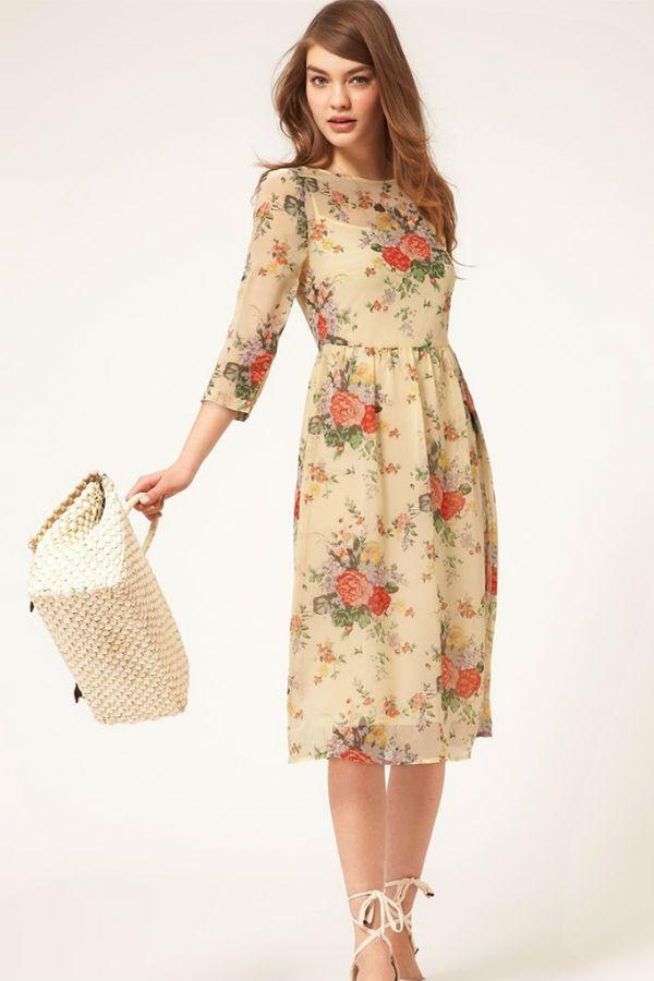 Платье футляр из шифона фото