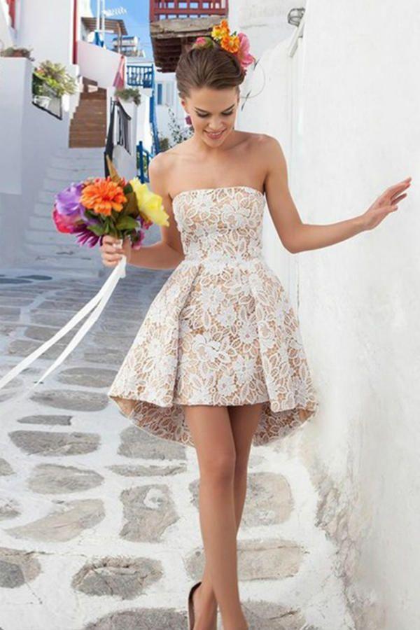 Летнее платье Без бретелей фото
