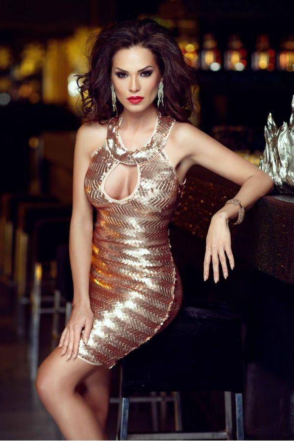 Модное клубное платье фото