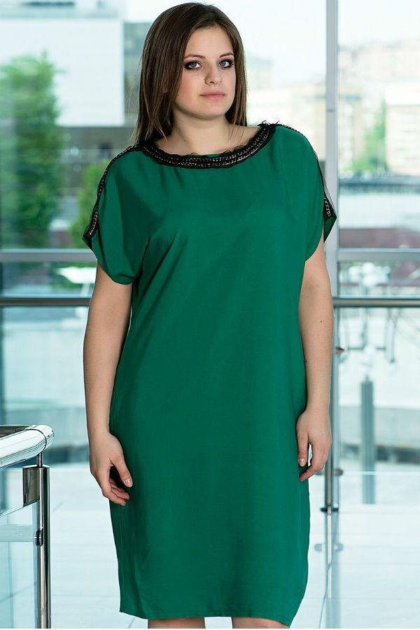 Платье туника для полных фото