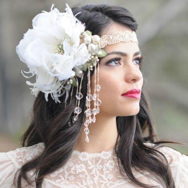 Повязка для невесты фото