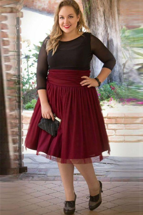 Пышная юбка фото