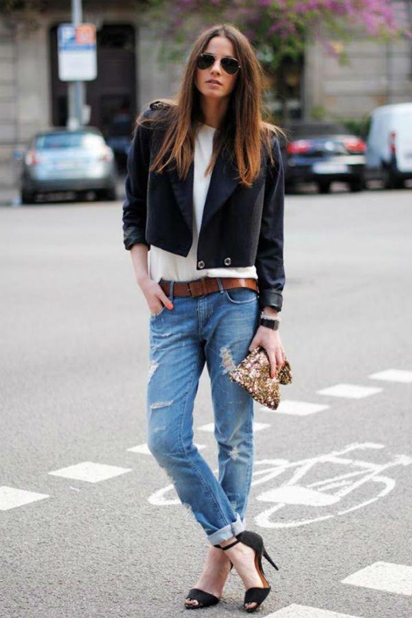 Заниженные джинсы фото