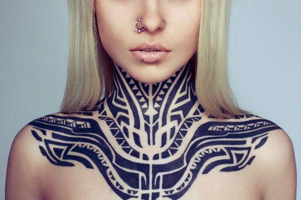 Этническая тема тату фото