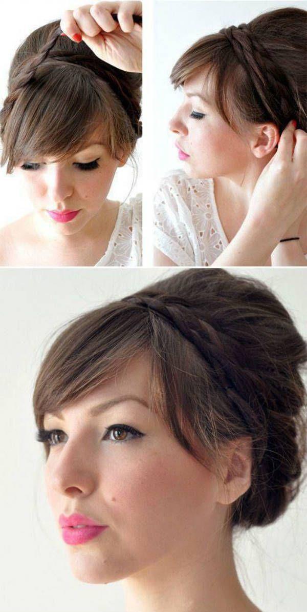 Бабетта с косами 2 фото