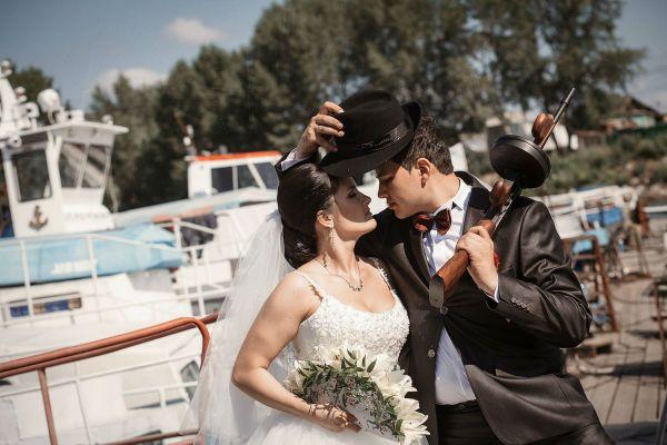 Ганстерская свадьба фото