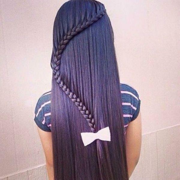 Изогнутая коса фото