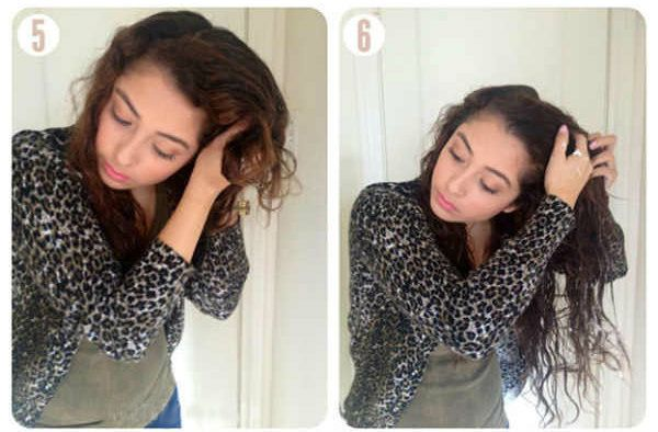 Объемные кудри на длинные волосы