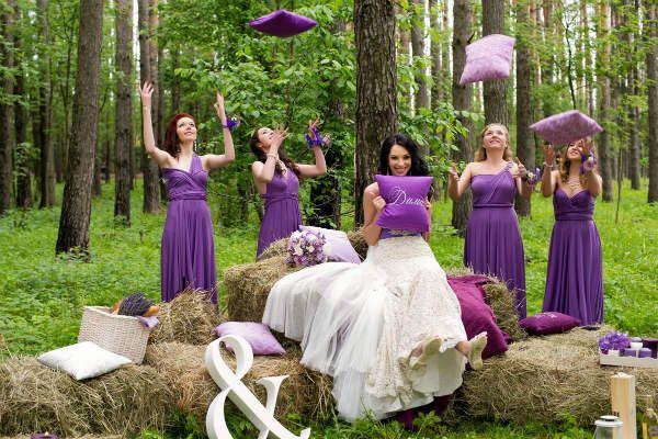 Невеста и подружки фото