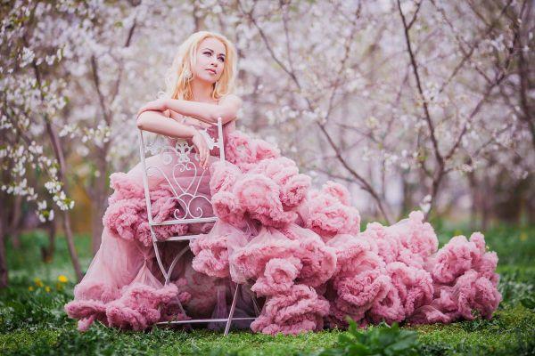 Пышное платье фото